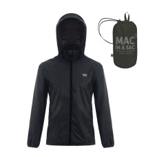 Яке водоустойчиво Mac in a Sac Origin jet black MAC IN A SAC - изглед 1