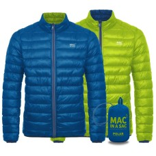 Пухено двулицево яке Mac in a sac Polar Down BLU